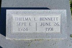 Thelma L Bennett