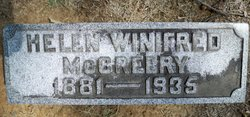 Helen Winifred McCreery