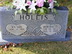 Bertha O Hollis
