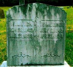 "Tennessee ""Tennie"" <I>Castleman</I> Vick"