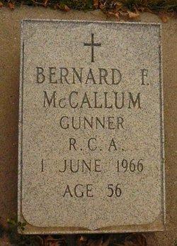 Bernard Francis McCallum