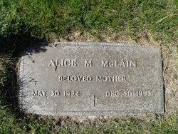 Alice May <I>Peet</I> McLain
