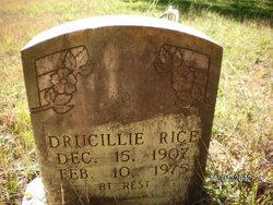 Drucillie Rice