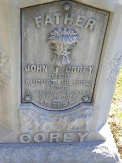 John Y Corey