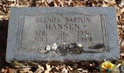 Brenda Kay <I>Barton</I> Hansen