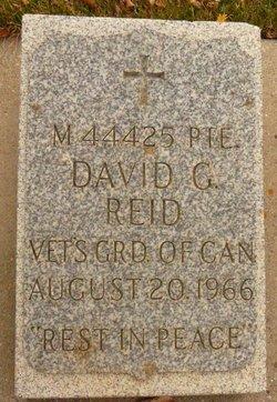 David Geddes Reid