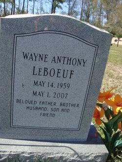 Wayne Anthony LeBoeuf