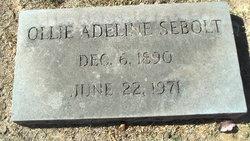 Ollie Adeline <I>Hardeman</I> Sebolt