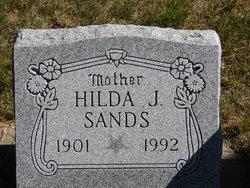 Hilda Josephine <I>Tollefson</I> Sands