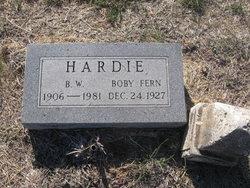 Boby Fern Hardie