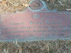 Fanneye Wanita <I>Whittenberg</I> Newman