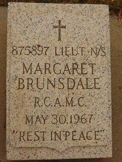 Margaret <I>Harmine</I> Brunsdale
