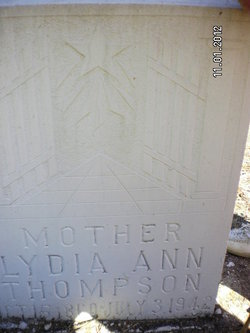 Lydia Ann Thompson