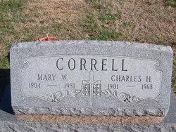 Mary W Correll