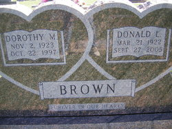 Dorothy M Brown