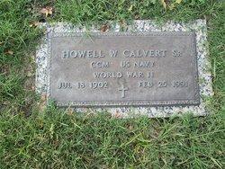 Howell W Calvert, Sr
