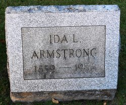 Ida Loucelia <I>Stebbins</I> Armstrong