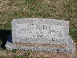 William D Correll