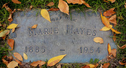 Marie Hayes