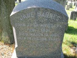 Jane <I>Myers</I> Barnes