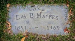 Eva B MacFee