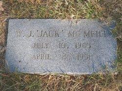 """W. J. """"Jack"""" McMeill"""