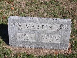 Rose P <I>Barker</I> Martin
