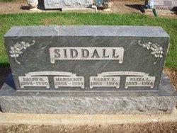 Margaret <I>Miller</I> Siddall