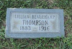 Lillian <I>Beauchamp</I> Thompson