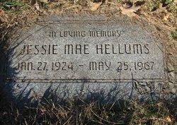 Jessie Mae <I>Page</I> Hellums
