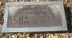 Mary Magdalene <I>Dunn</I> Hegwood