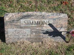 """Christine Florence """"Florence"""" <I>Jordan</I> Simmons"""