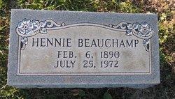 """Henrietta """"Hennie"""" Beauchamp"""