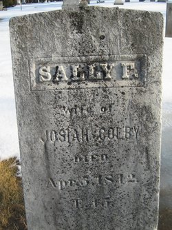 Sally <I>French</I> Colby
