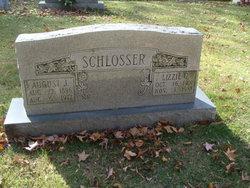 """Elizabeth Clementine """"Lizzie"""" <I>Menz</I> Schlosser"""