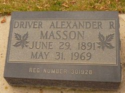 Alexander Reid Masson
