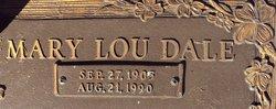 Mary Lou <I>Dale</I> Richie