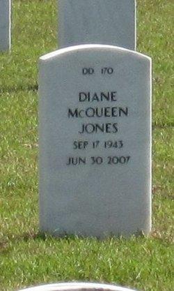 Diane <I>McQueen</I> Jones