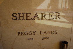 Peggy <I>Lands</I> Shearer