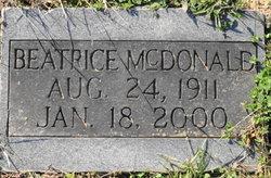 Beatrice McDonald