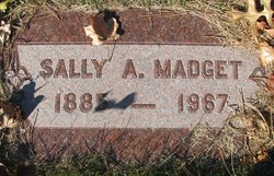 Sally A. <I>McClanahan</I> Madget