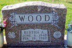 Bertha A. Wood