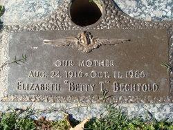 """Elizabeth """"Betty T"""" <I>Thelen</I> Bechtold"""