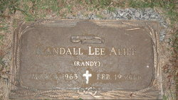 "Randall Lee ""Randy"" Aliff"