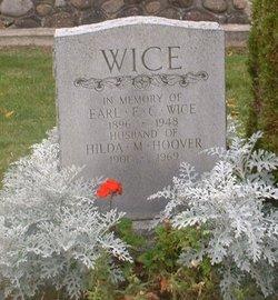 Hilda M <I>Hoover</I> Wice