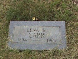 Lena Mae <I>Lilly</I> Carr