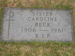 Sr Caroline Beck
