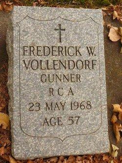 Frederick W Vollendorf