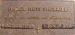 Hazel Wilma <I>Huss</I> Sherrill