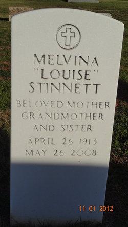 """Melvina """"Louise"""" Stinnett"""